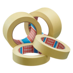 Páska maskovací žlutá HM / různé šíře